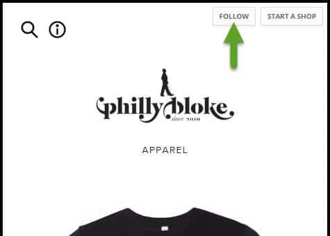 Follow Philly Bloke Online Store